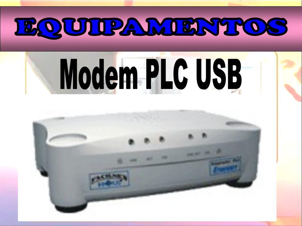 EQUIPAMENTOS Modem PLC USB