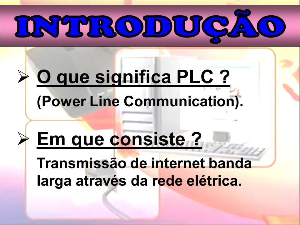 O que significa PLC Em que consiste INTRODUÇÃO