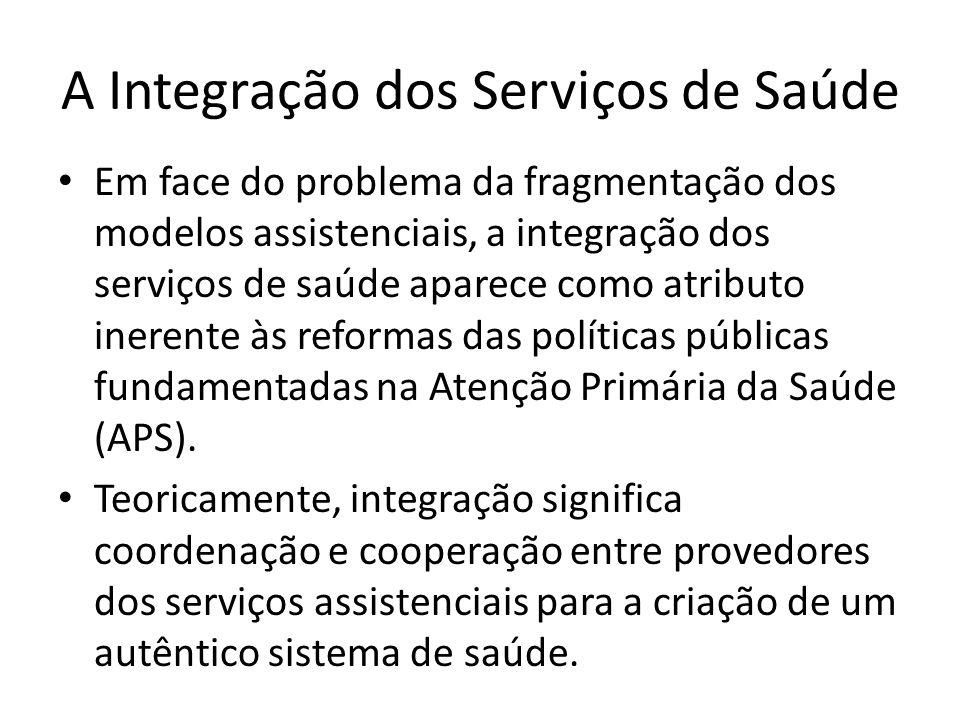 A Integração dos Serviços de Saúde
