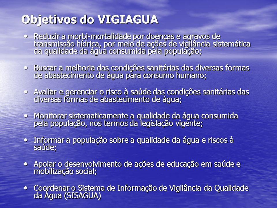 Objetivos do VIGIAGUA