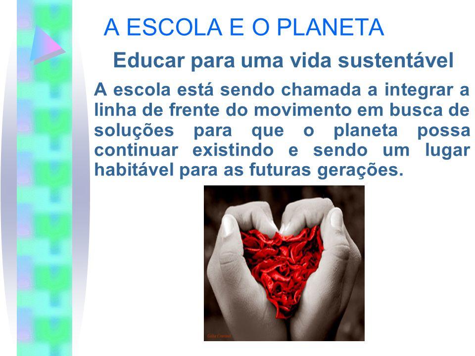 Educar para uma vida sustentável