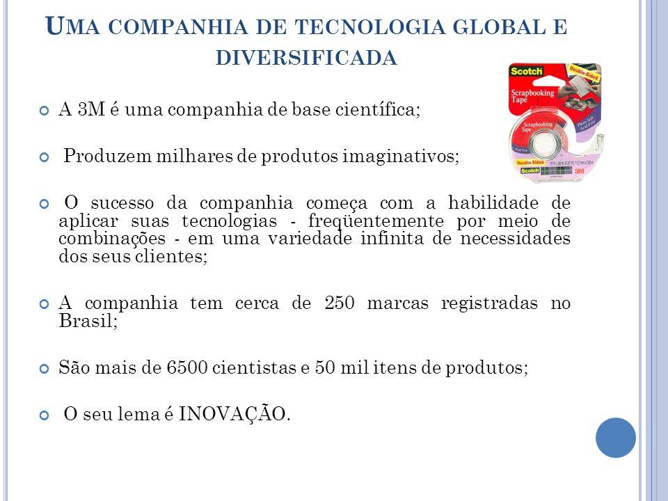 Uma companhia de tecnologia global e diversificada