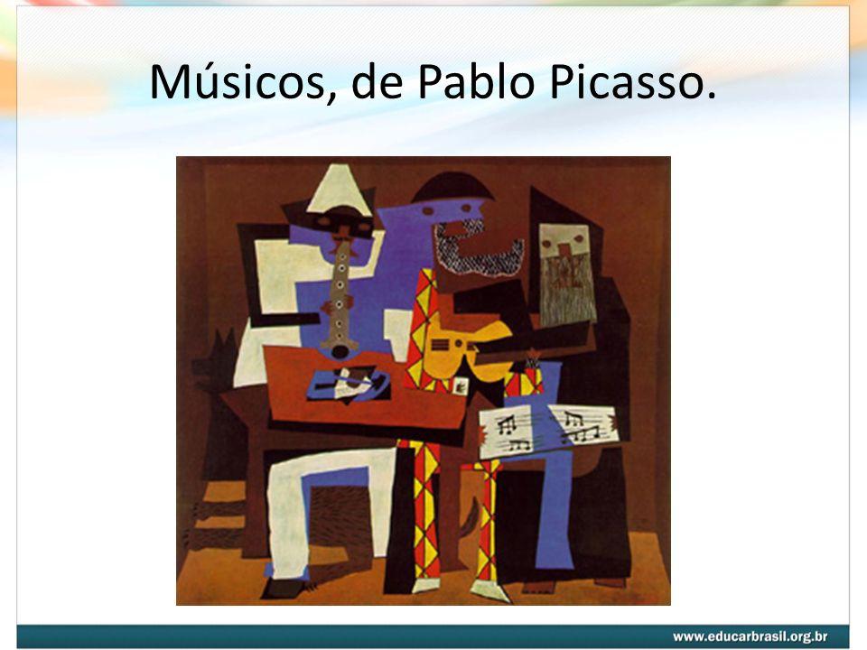 Músicos, de Pablo Picasso.