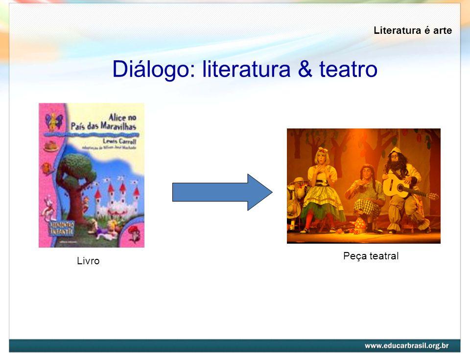 Diálogo: literatura & teatro