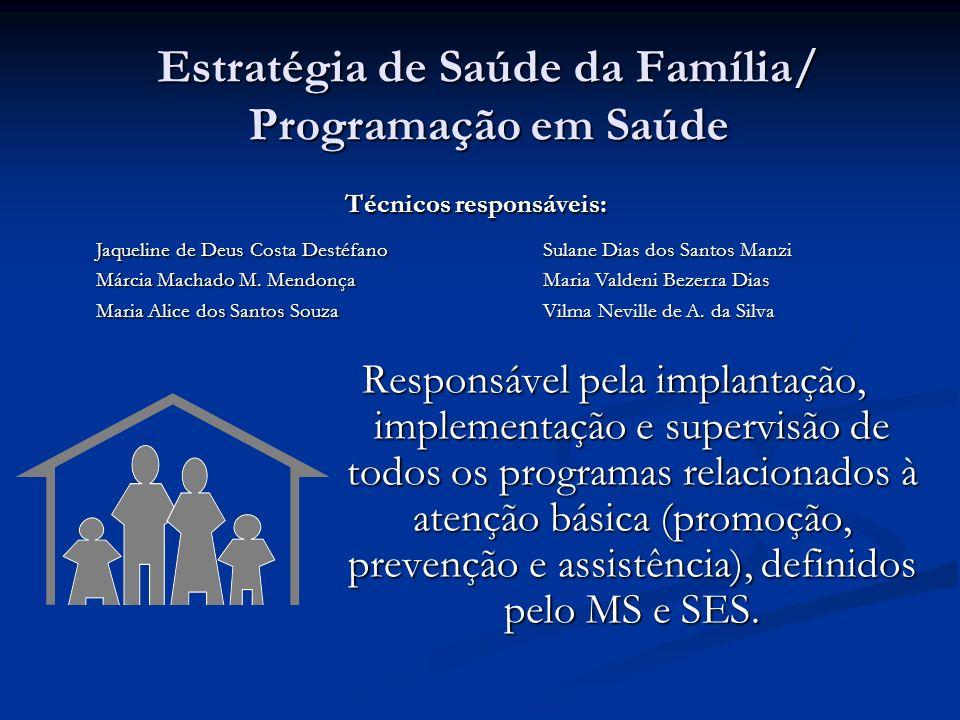 Estratégia de Saúde da Família/ Programação em Saúde