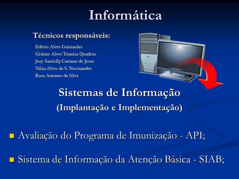 Informática Sistemas de Informação
