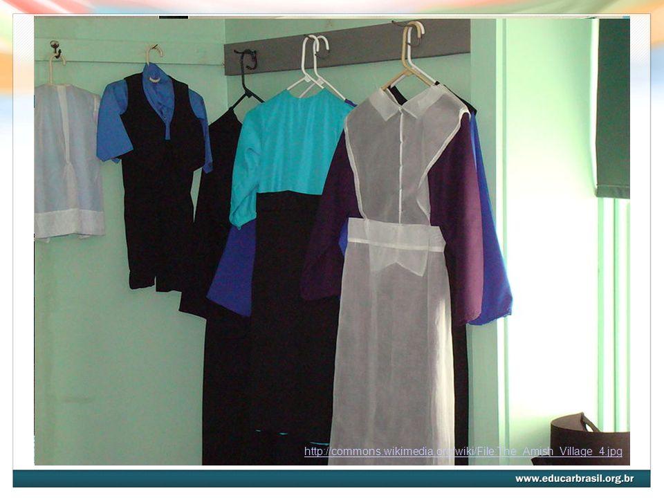 Analisem as roupas que eles costumam utilizar