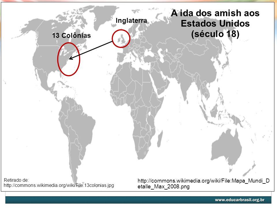 A ida dos amish aos Estados Unidos (século 18)