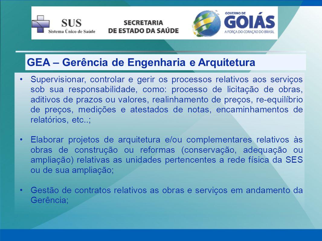 GEA – Gerência de Engenharia e Arquitetura
