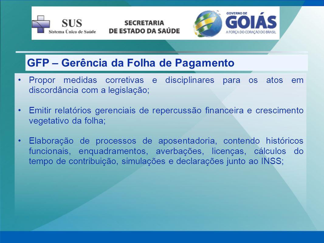 GFP – Gerência da Folha de Pagamento