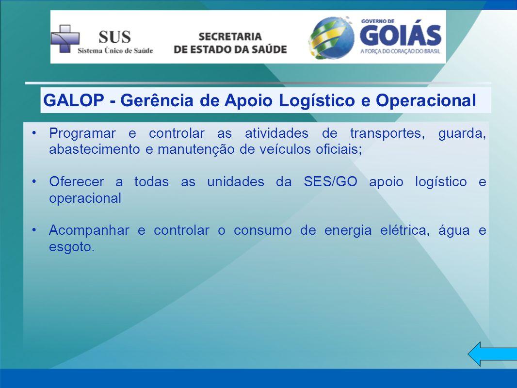 GALOP - Gerência de Apoio Logístico e Operacional