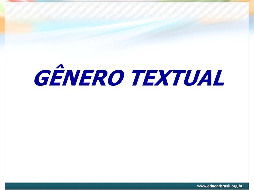 GÊNERO TEXTUAL