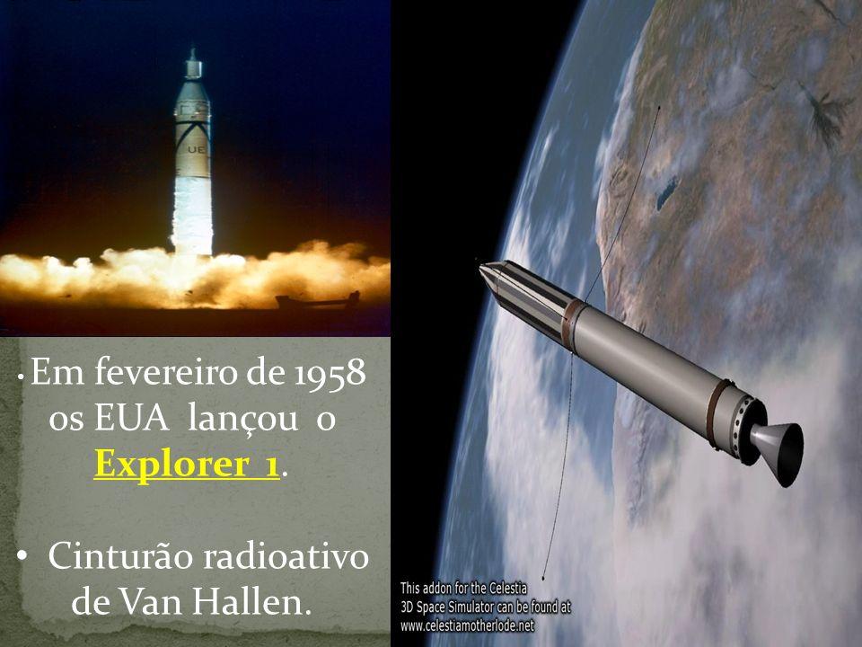 Cinturão radioativo de Van Hallen.