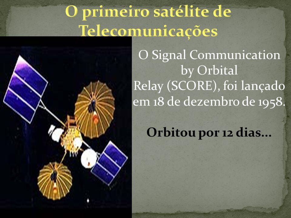 O primeiro satélite de Telecomunicações