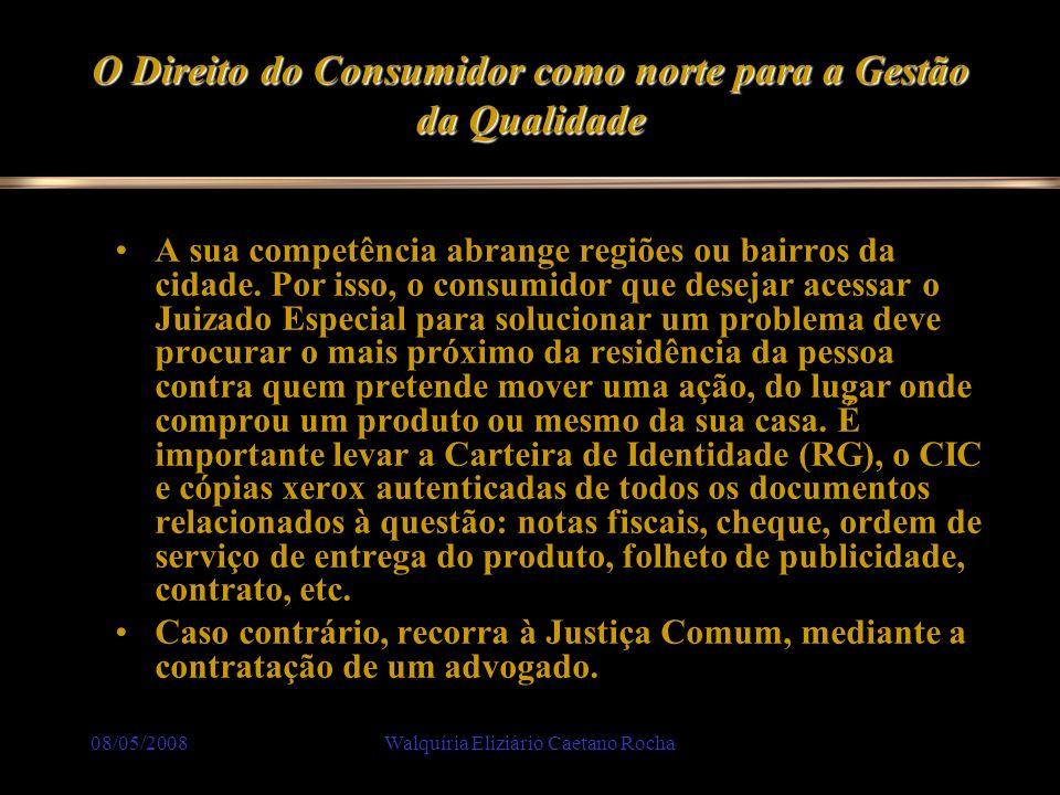 O Direito do Consumidor como norte para a Gestão da Qualidade
