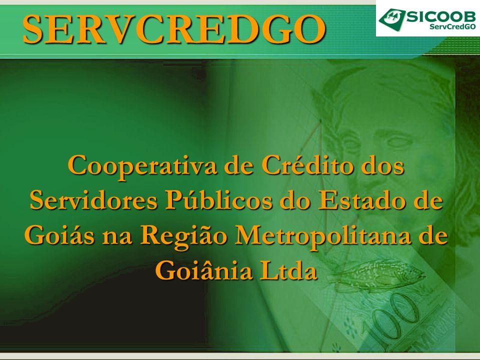 SERVCREDGO Cooperativa de Crédito dos Servidores Públicos do Estado de Goiás na Região Metropolitana de Goiânia Ltda.