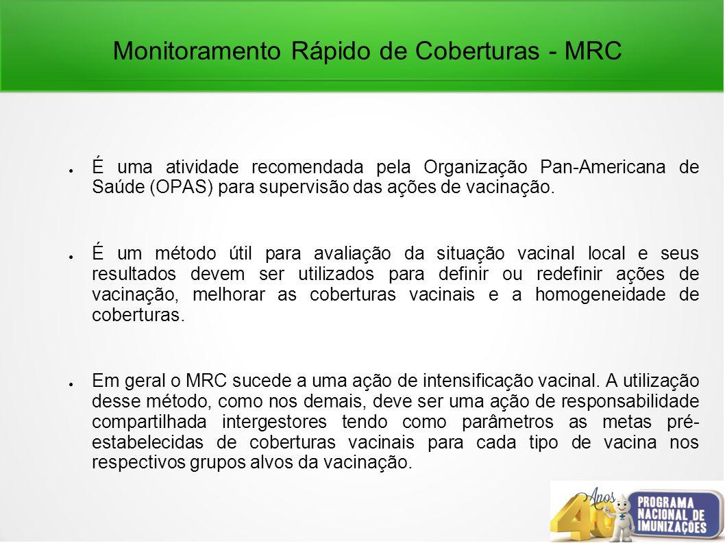 Monitoramento Rápido de Coberturas - MRC