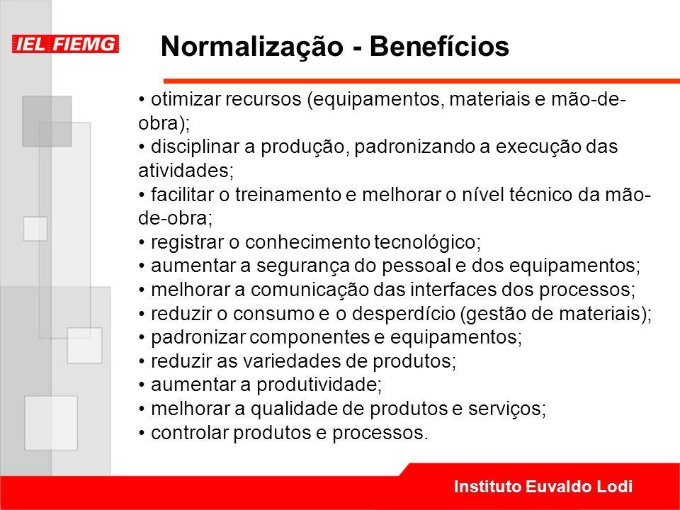 Normalização - Benefícios