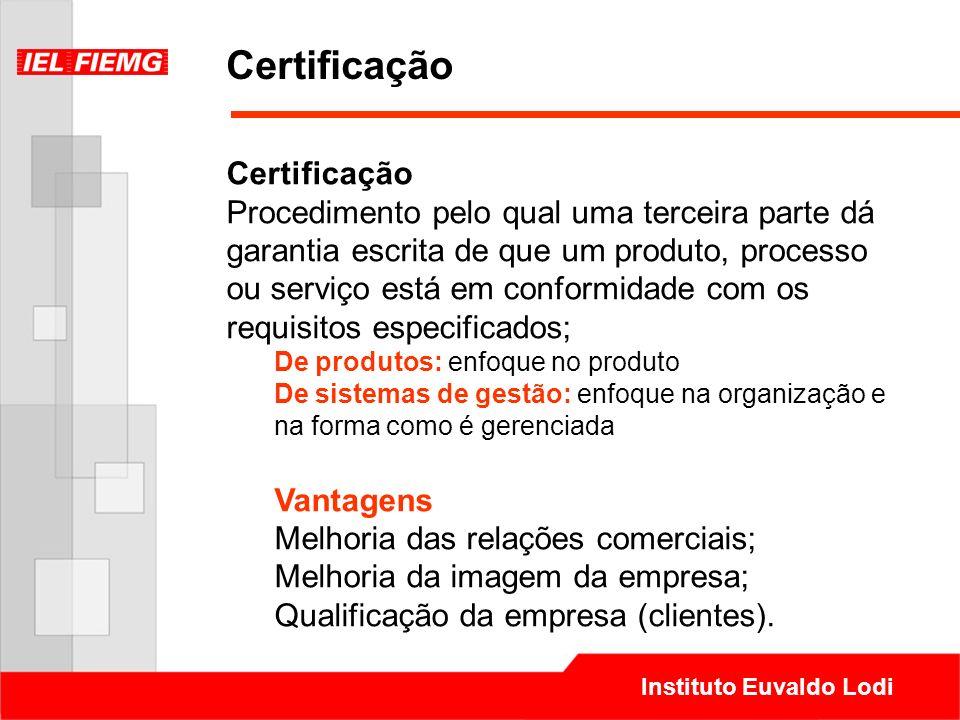 Certificação Certificação