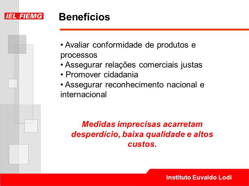 Benefícios Avaliar conformidade de produtos e processos