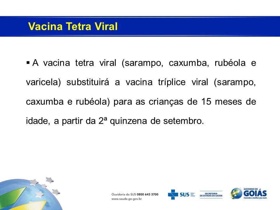 Vacina Tetra Viral