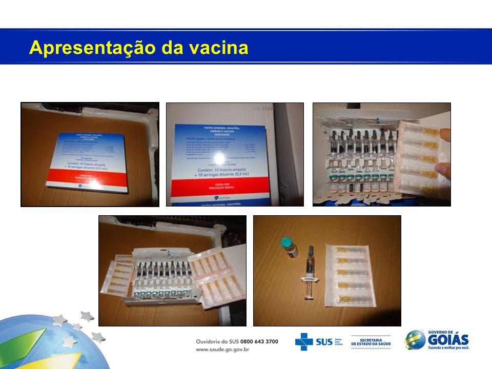 Apresentação da vacina