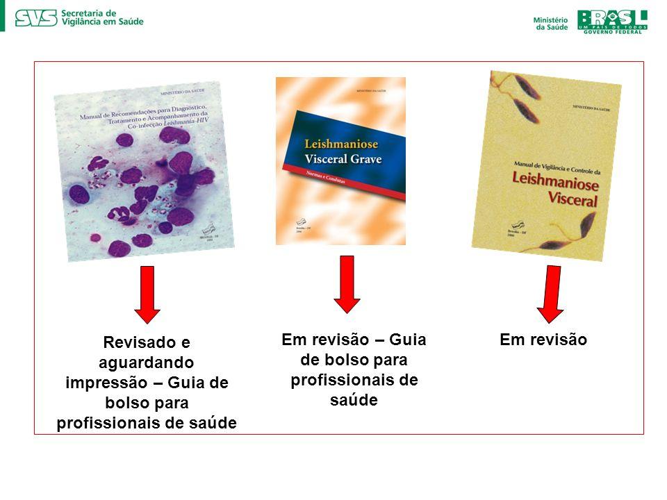 Em revisão – Guia de bolso para profissionais de saúde