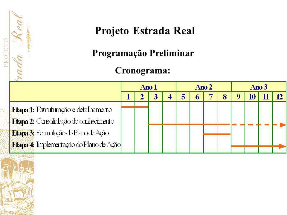 Programação Preliminar