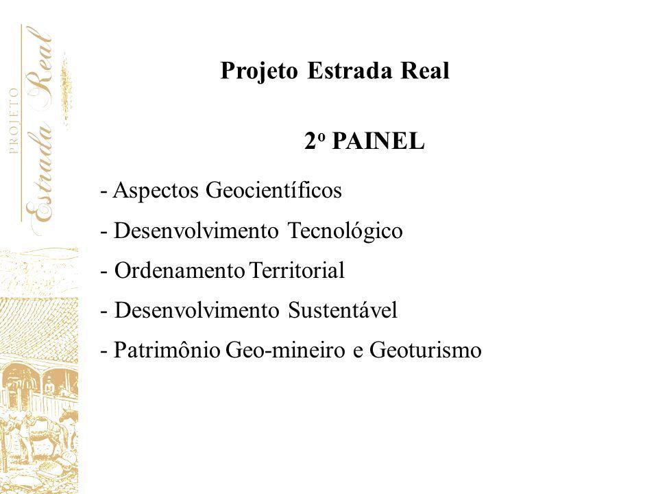 Projeto Estrada Real 2o PAINEL