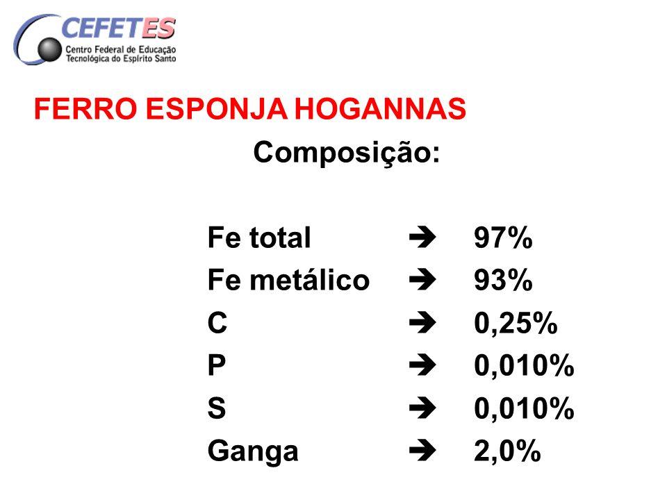 FERRO ESPONJA HOGANNAS