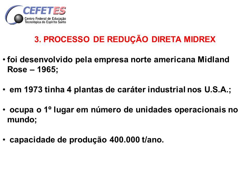 3. PROCESSO DE REDUÇÃO DIRETA MIDREX