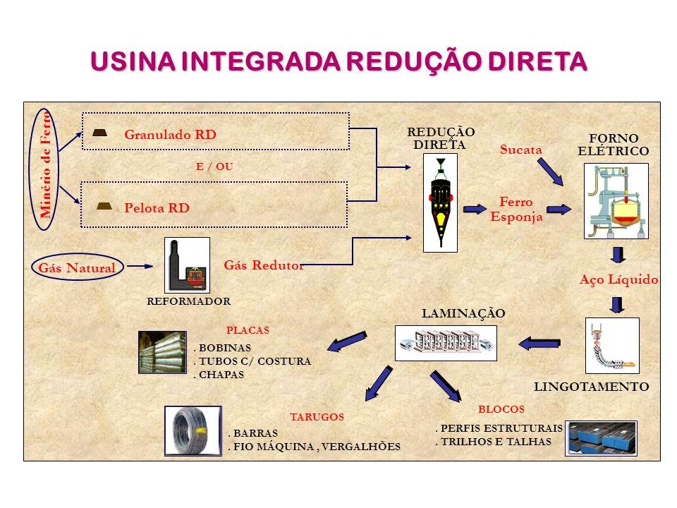 USINA INTEGRADA REDUÇÃO DIRETA