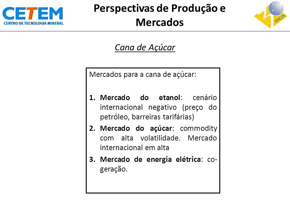 Perspectivas de Produção e Mercados