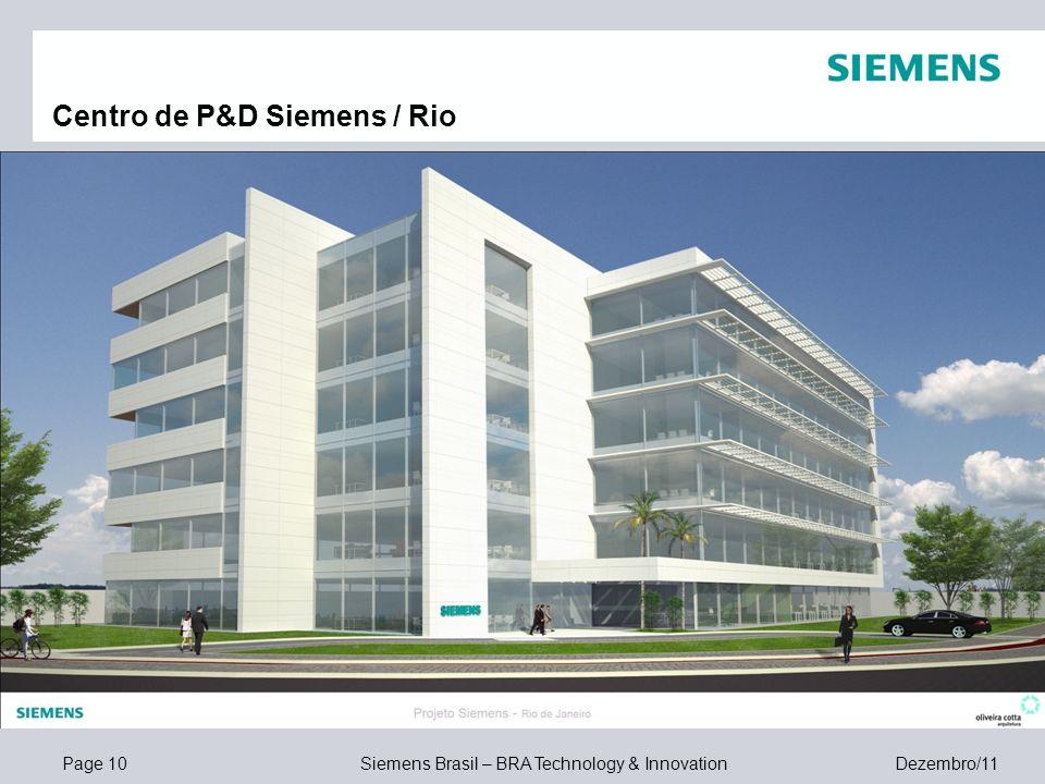 Centro de P&D Siemens / Rio
