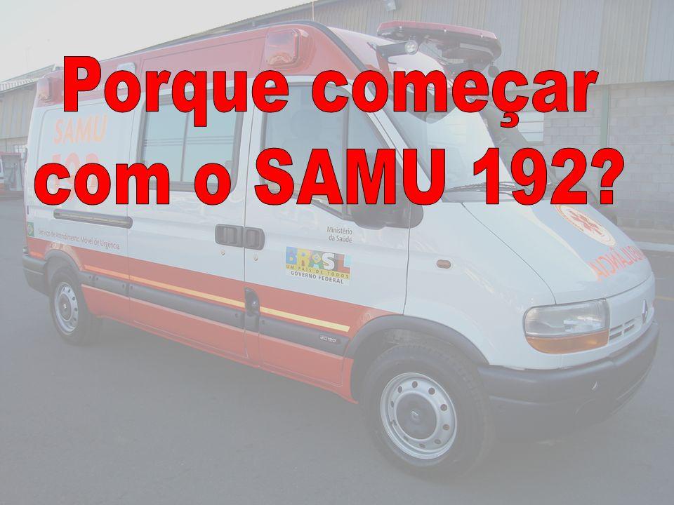 Porque começar com o SAMU 192