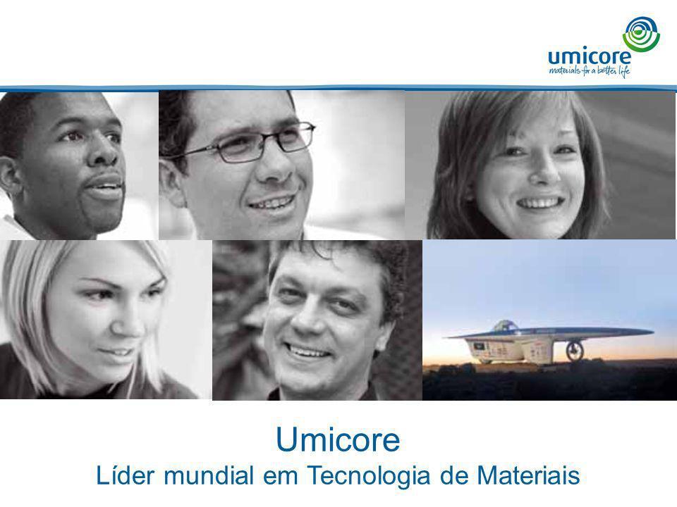 Líder mundial em Tecnologia de Materiais