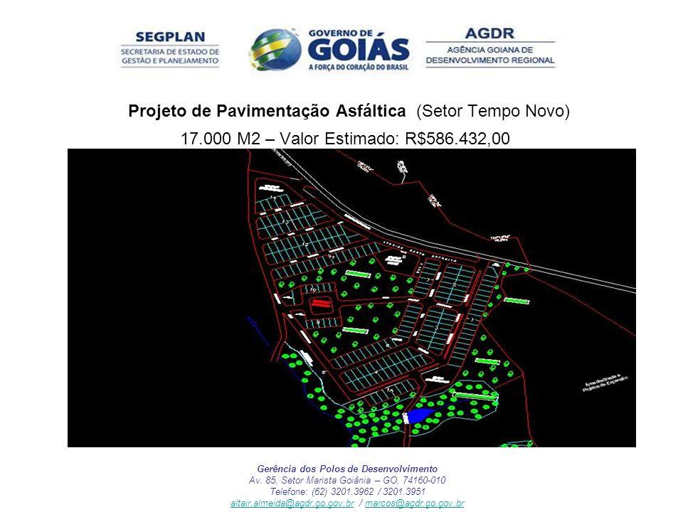 Projeto de Pavimentação Asfáltica (Setor Tempo Novo)