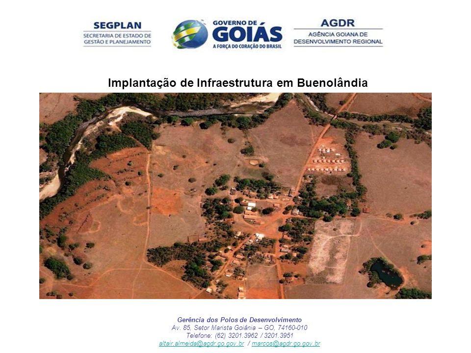 Implantação de Infraestrutura em Buenolândia