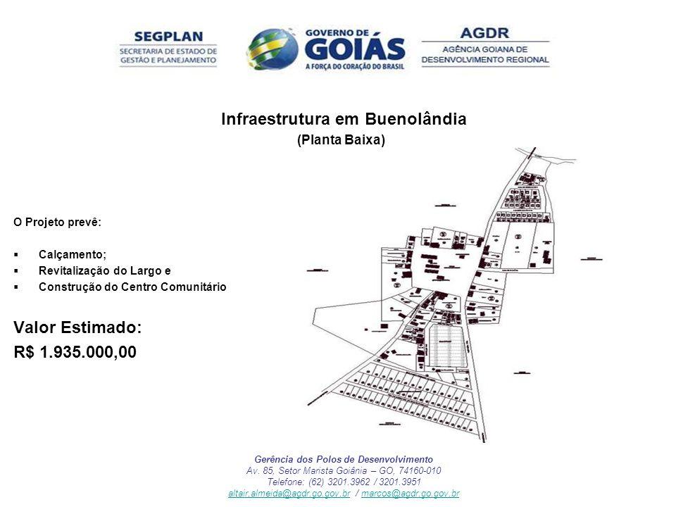 Infraestrutura em Buenolândia