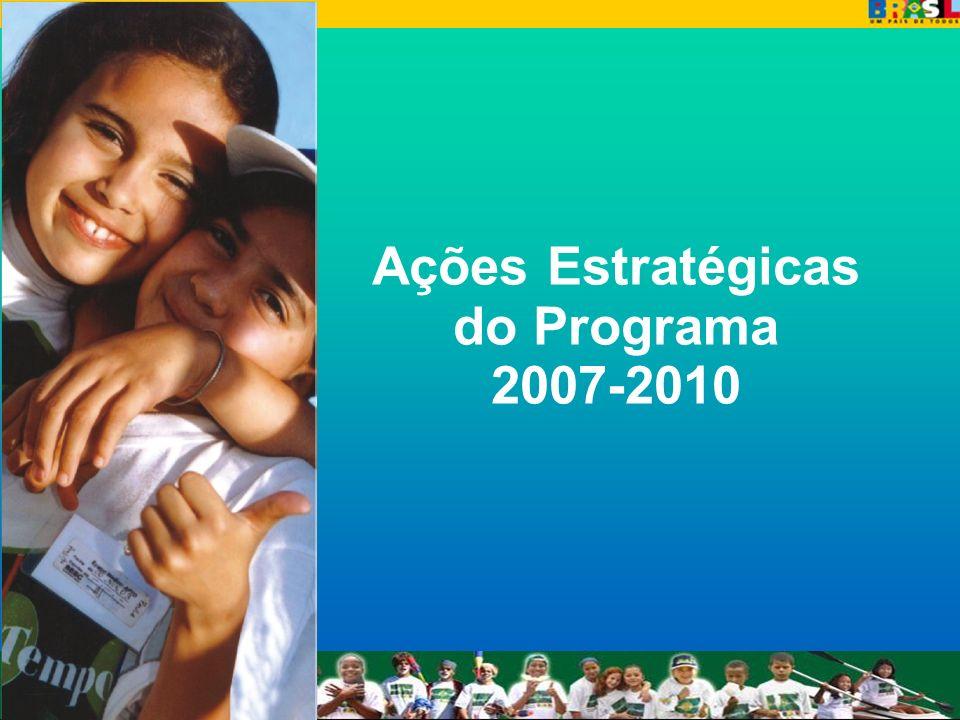 Ações Estratégicas do Programa