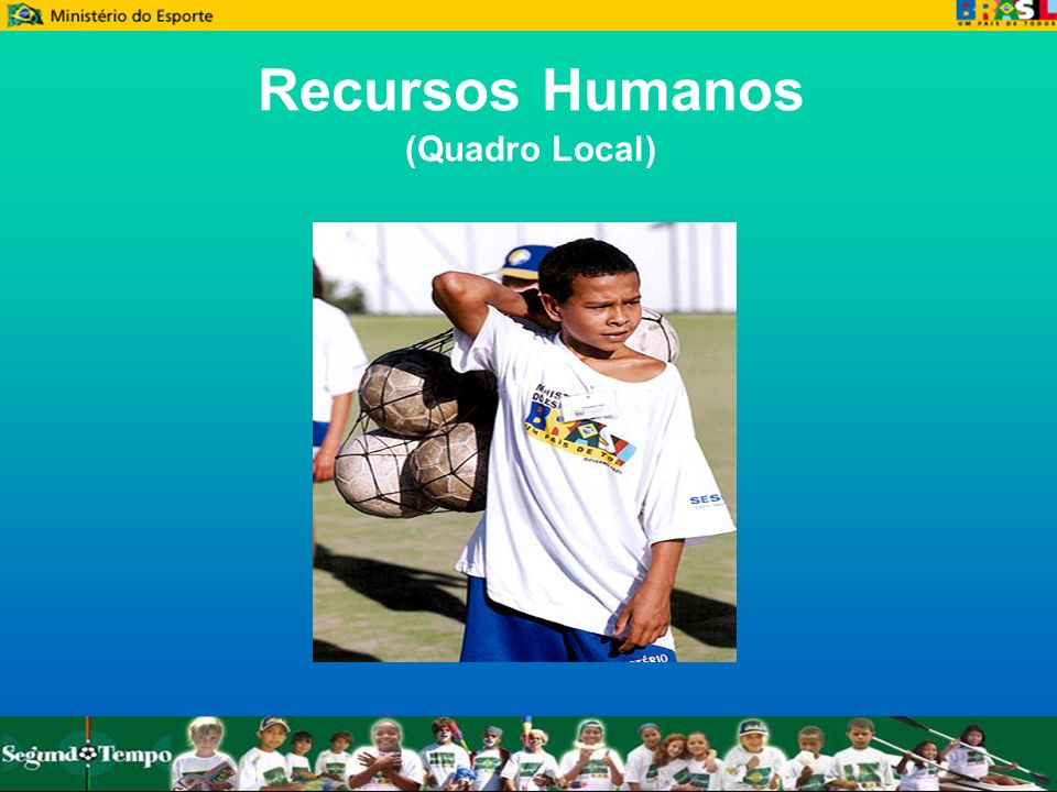 Recursos Humanos (Quadro Local)‏