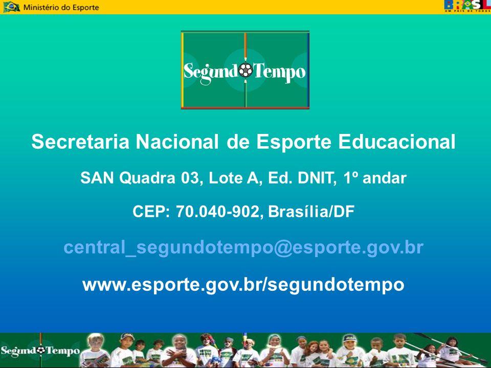 Secretaria Nacional de Esporte Educacional