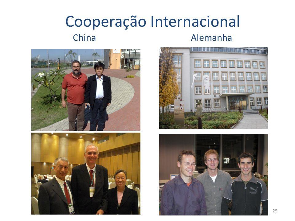 Cooperação Internacional China Alemanha