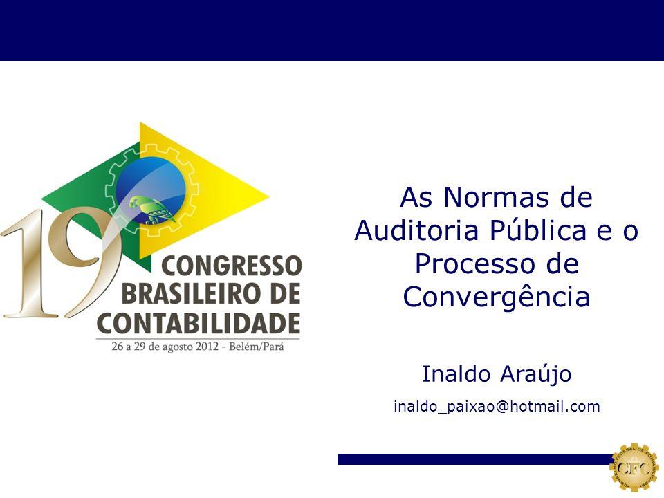Auditoria Pública e o Processo de Convergência