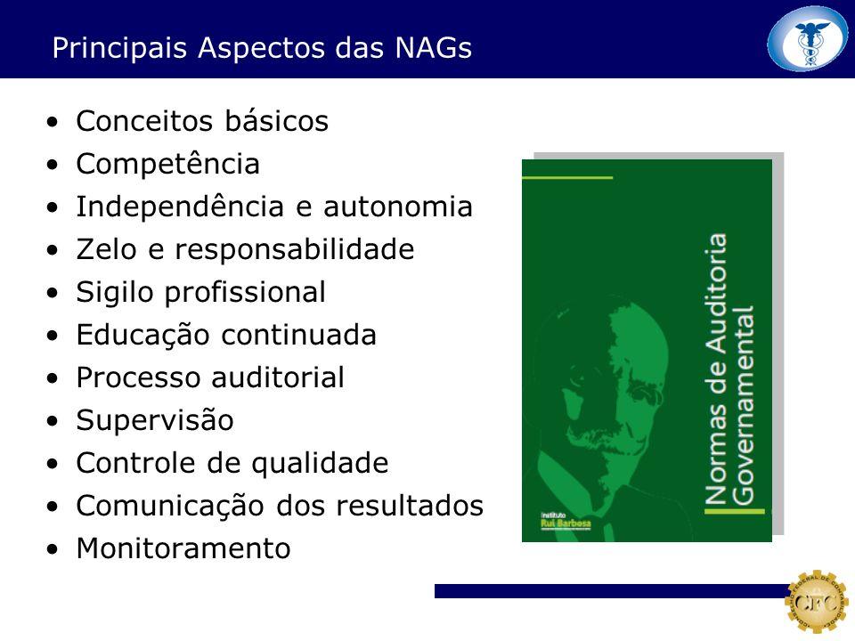 Principais Aspectos das NAGs