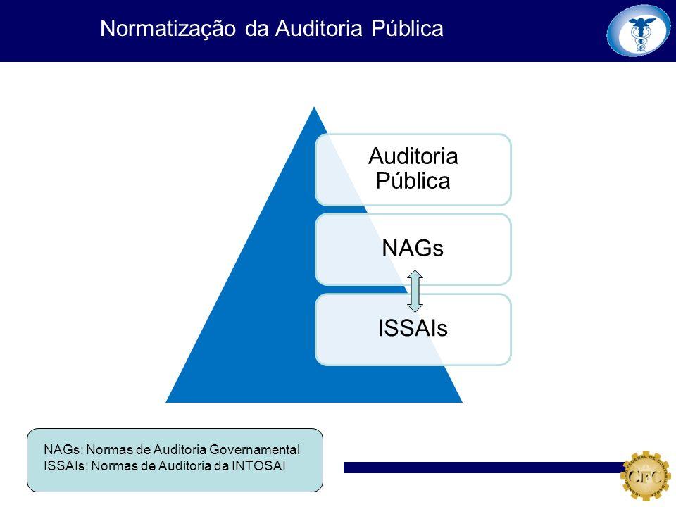 Normatização da Auditoria Pública