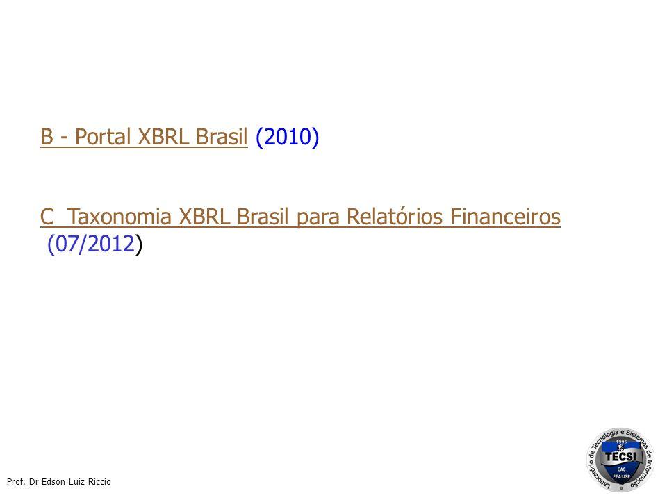 B - Portal XBRL Brasil (2010)