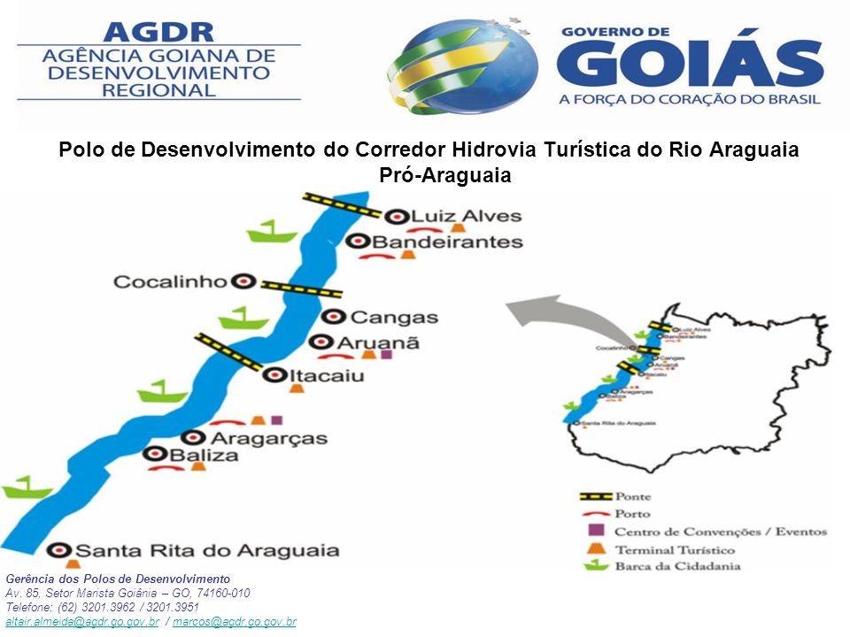 Polo de Desenvolvimento do Corredor Hidrovia Turística do Rio Araguaia Pró-Araguaia