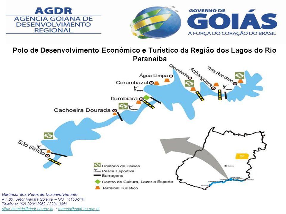 Polo de Desenvolvimento Econômico e Turístico da Região dos Lagos do Rio Paranaíba