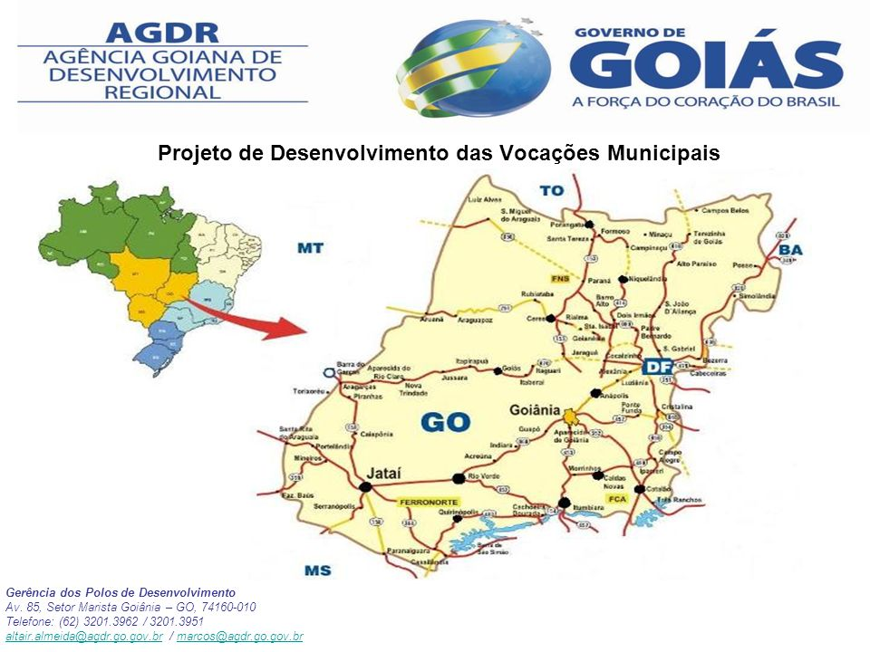 Projeto de Desenvolvimento das Vocações Municipais